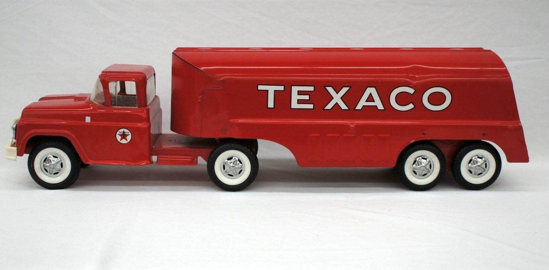 Vintage Texaco Toy Tanker Truck 24''. Excellent