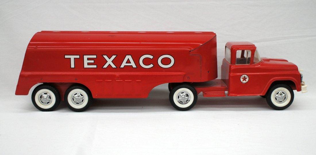 Vintage Texaco Toy Tanker Truck 24''. Excellent - 2