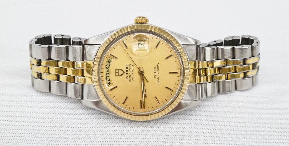 Vintage Tudor Men's Oyster Prince Day & Date Two-Tone