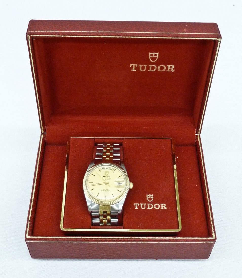Vintage Tudor Men's Oyster Prince Day & Date Two-Tone - 2