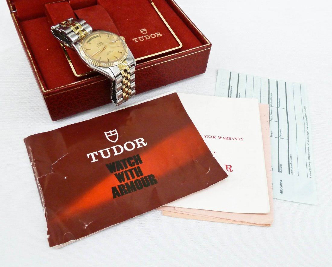 Vintage Tudor Men's Oyster Prince Day & Date Two-Tone - 6