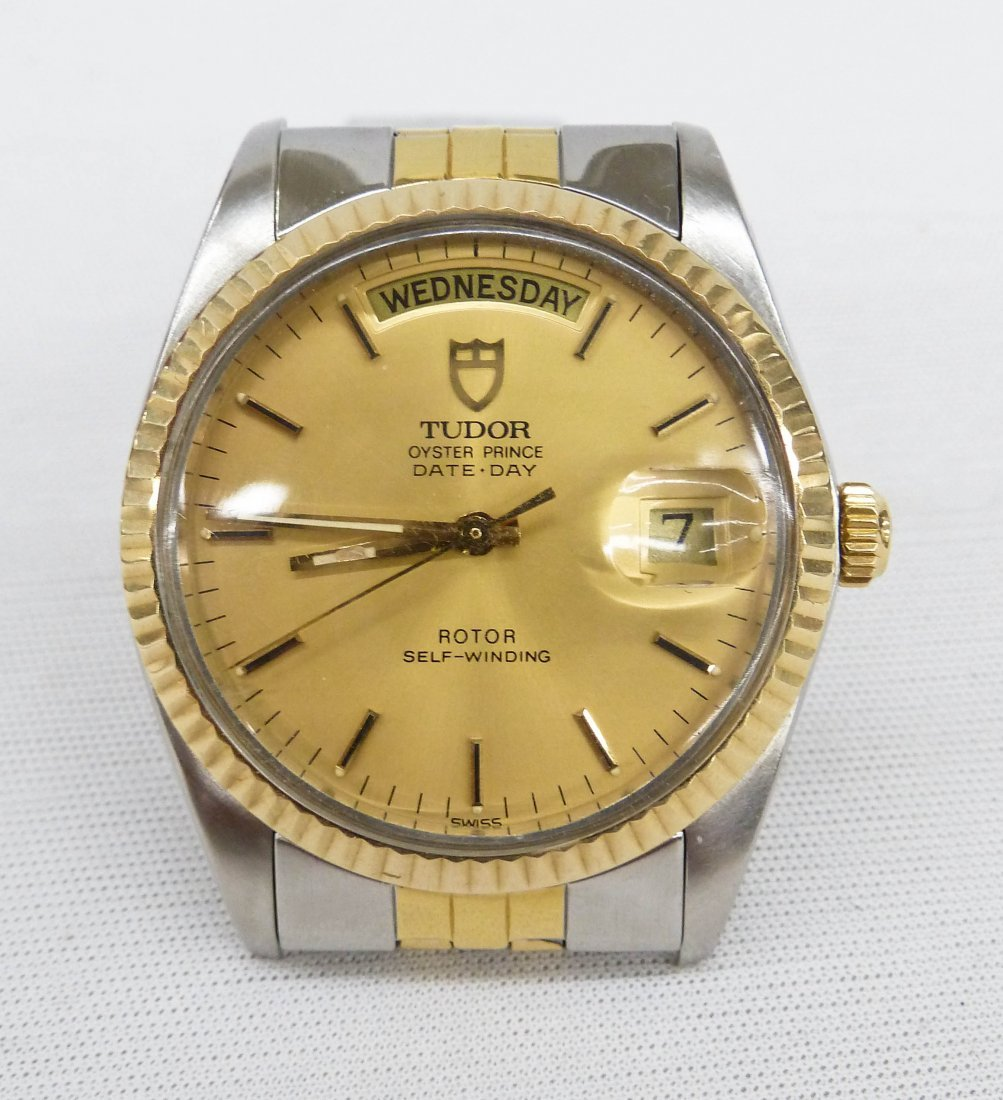 Vintage Tudor Men's Oyster Prince Day & Date Two-Tone - 7