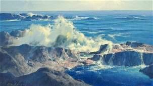 Karl Albert (1911-2007 California) ''Turbulence''