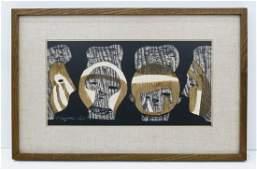 Kiyoshi Saito 19071997 Japan Haniwa Modernist