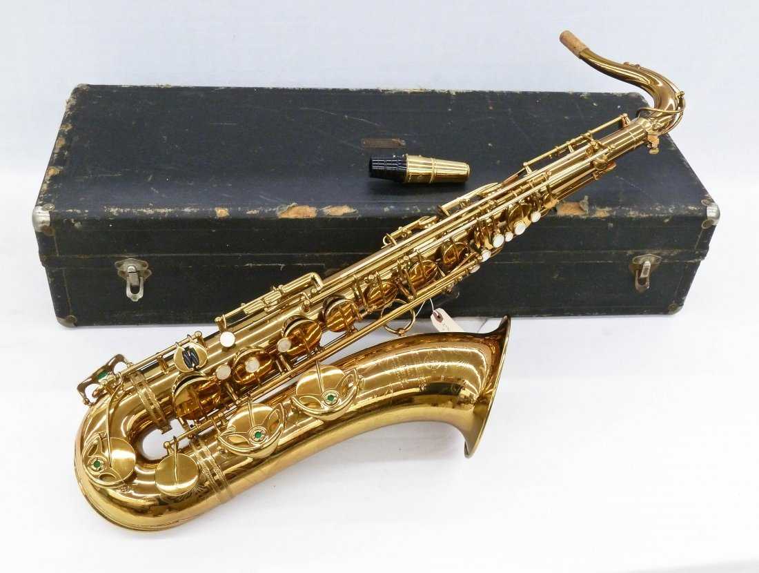 1950 Selmer France Super Action Brass Tenor Saxophone