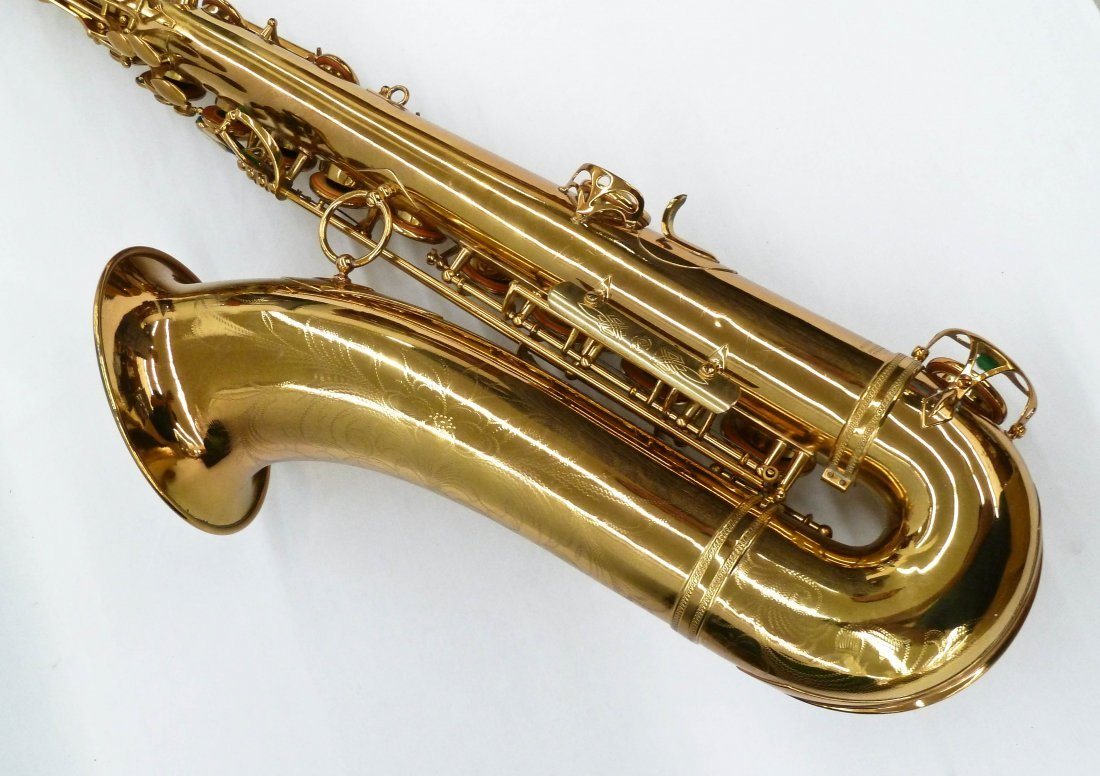 1950 Selmer France Super Action Brass Tenor Saxophone - 3