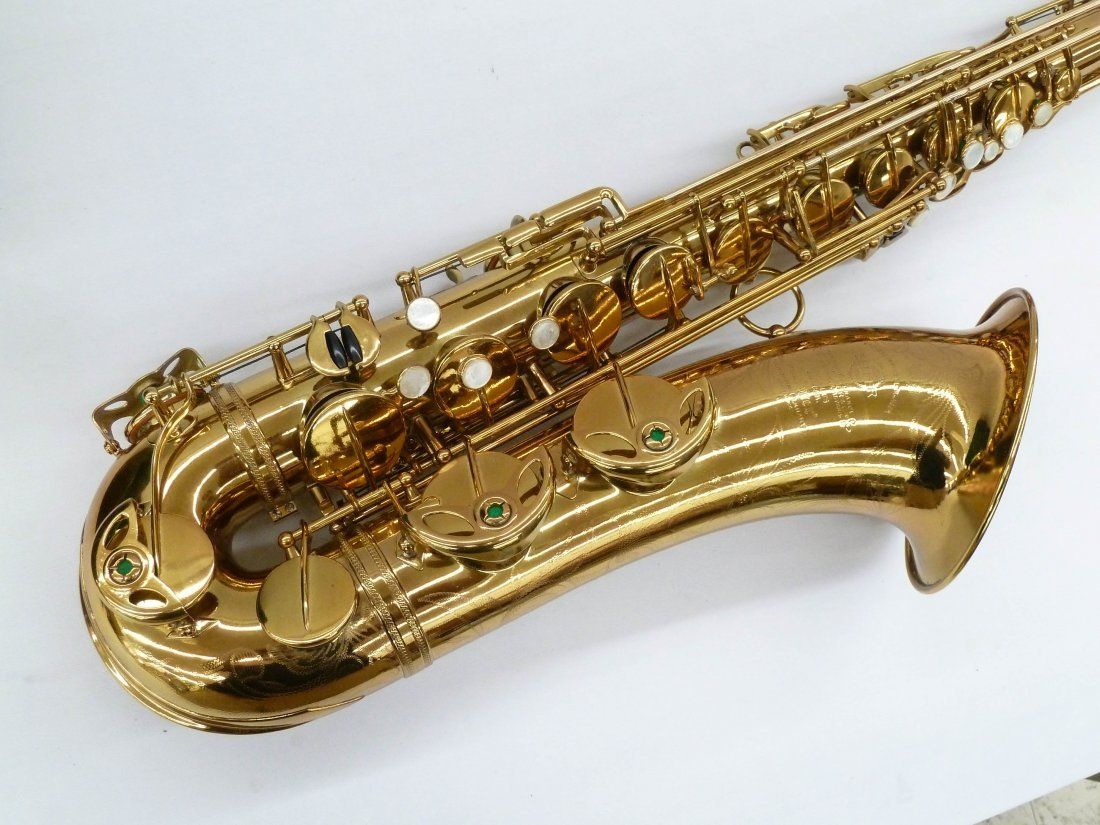 1950 Selmer France Super Action Brass Tenor Saxophone - 4