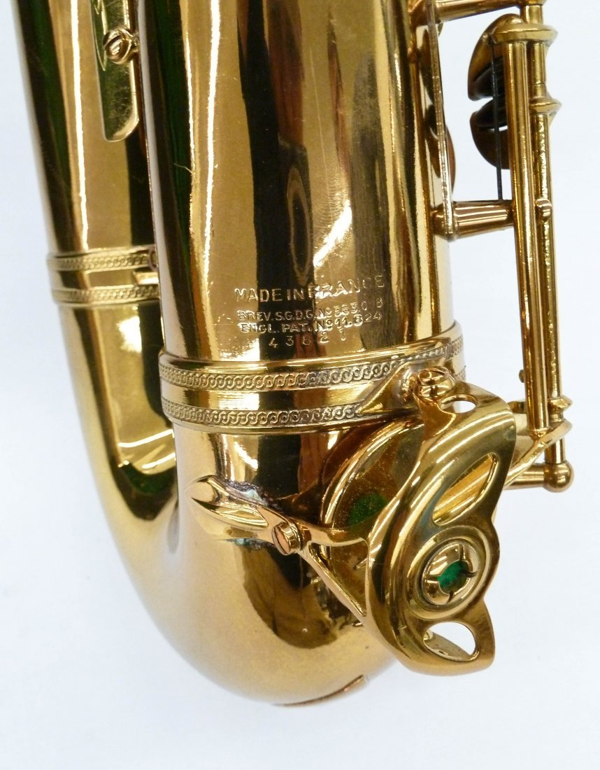 1950 Selmer France Super Action Brass Tenor Saxophone - 5