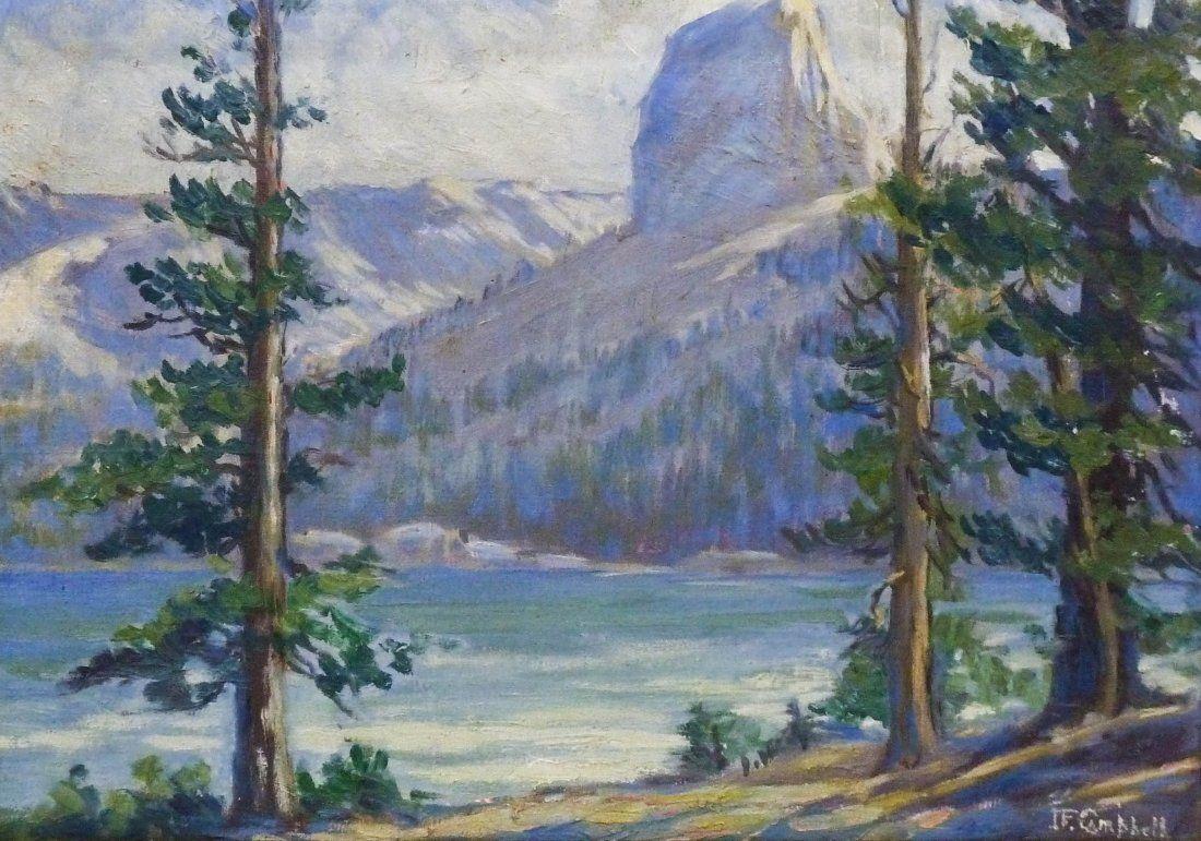 John F. Campbell (1888-1942 California) Mountain