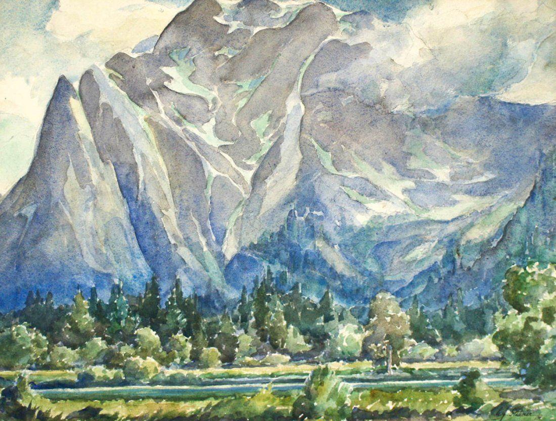 Arnold J. Stahmer Jr. (b.1915 Washington) Mountain