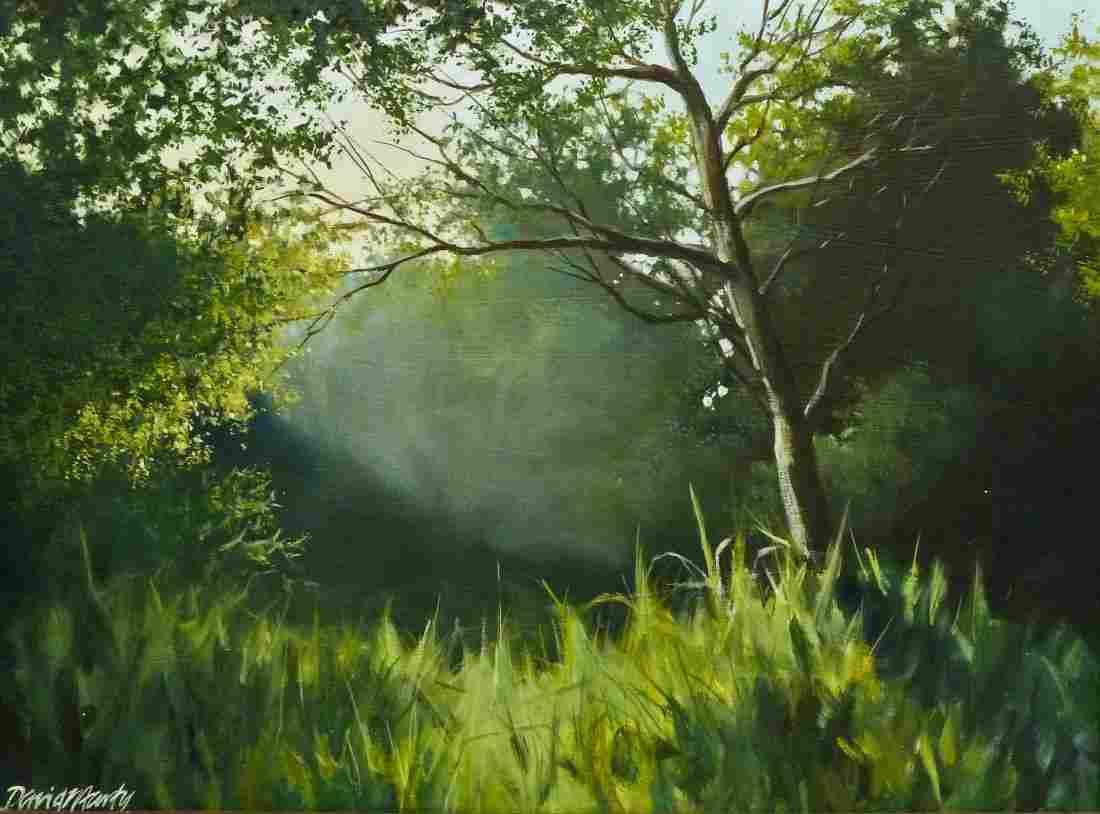 David Marty (b.1951 Washington) Untitled Forest Scene O