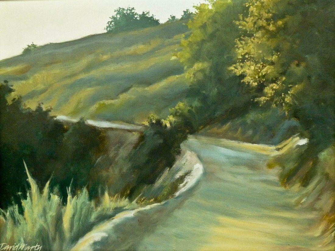David Marty (b.1951 Washington) Untitled Hillside Lands