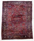 Semi Antique Persian Sarouk Oriental Rug 88x12