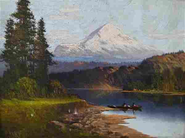 John Joseph Englehart (1867-1915 California) Mountain