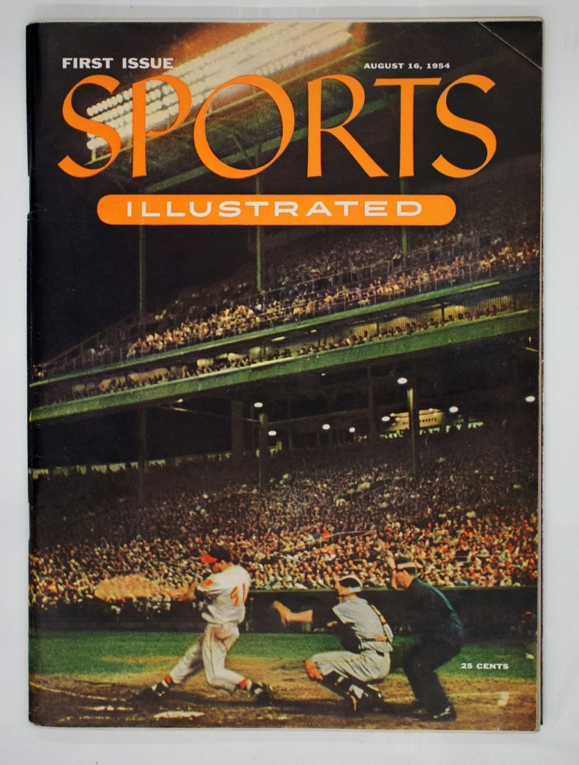 Sports Illustrated First Issue, August 16, 1954.