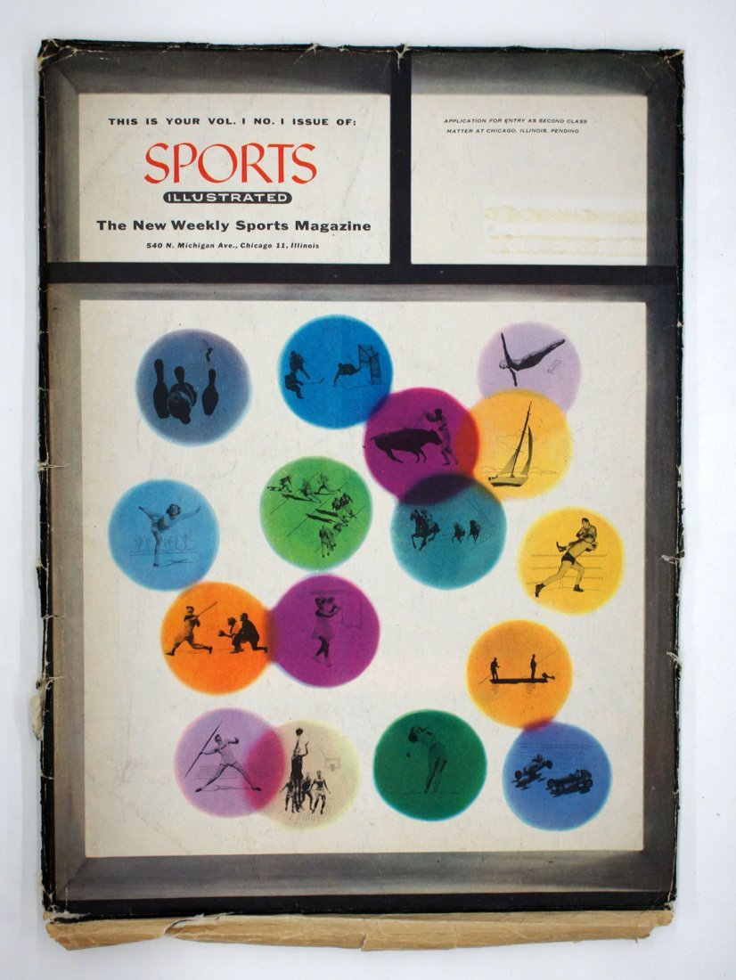 Sports Illustrated First Issue, August 16, 1954. - 5