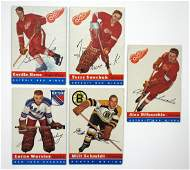 1954-55 Topps Hockey Complete Set. Key cards in set
