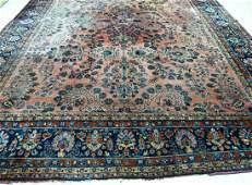 Semi Antique Sarouk Persian Room Size Oriental Rug