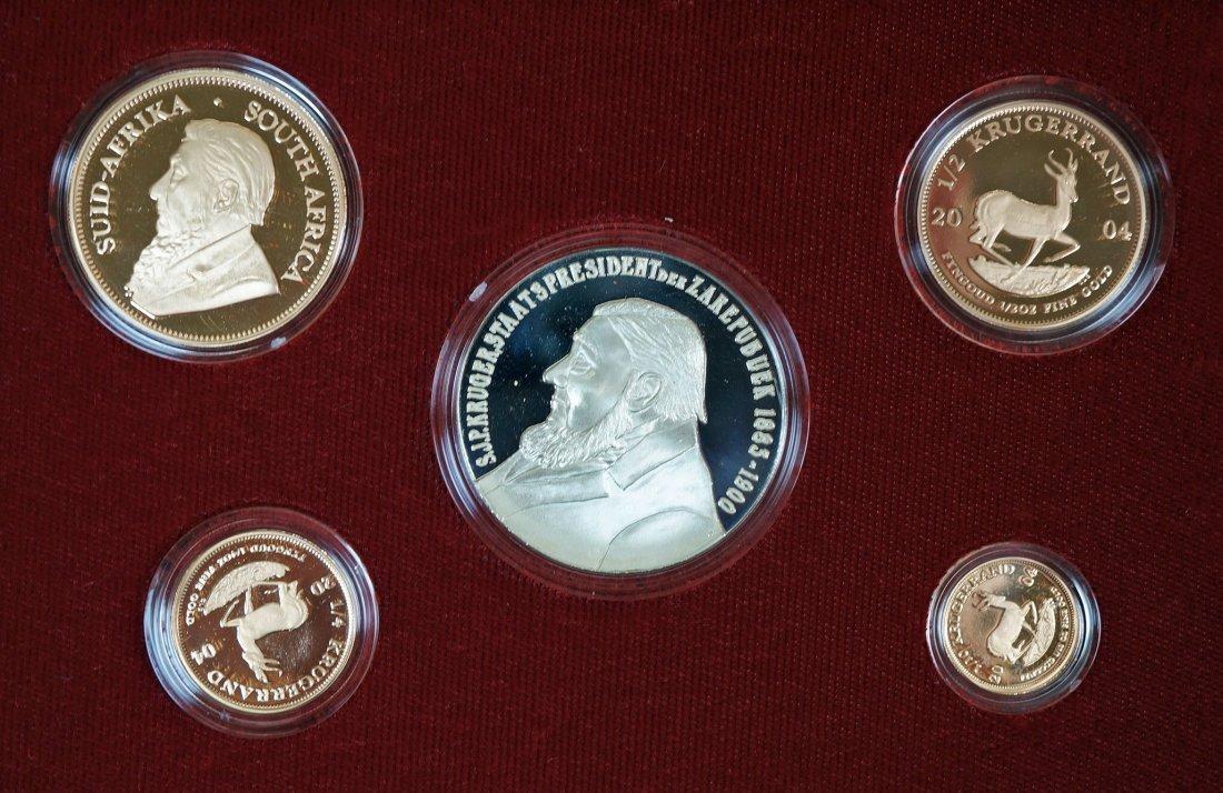 2003 South Africa Gold Krugerrand Paul Kruger Proof set