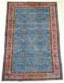 Semi Antique Meshed Persian Room Size Oriental Rug