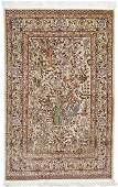 Fine Turkish Hereke Silk & Gold Thread Tree of Life