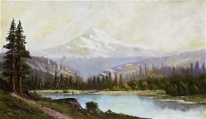 John Englehart (1867-1915 American) Mount Hood