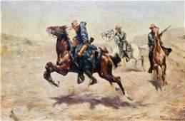 After Charles Schreyvogel 18611912 American Western