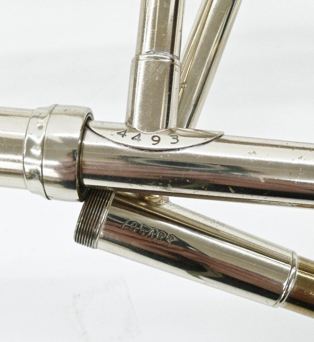 King 4B Silver Sonorous Trombone in Case. Sterling - 3