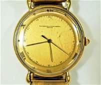 Vintage Vacheron  Constantin Geneve 18k Gold Mens