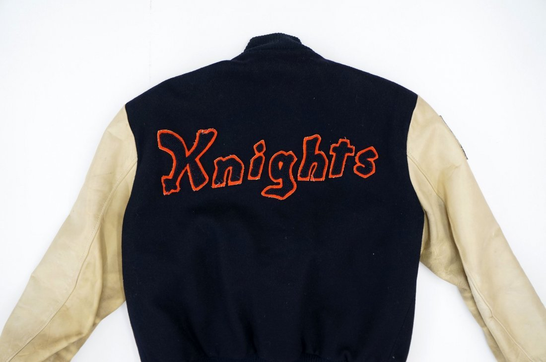 ''The Natural'' Cast & Crew Baseball Jacket. From the - 3