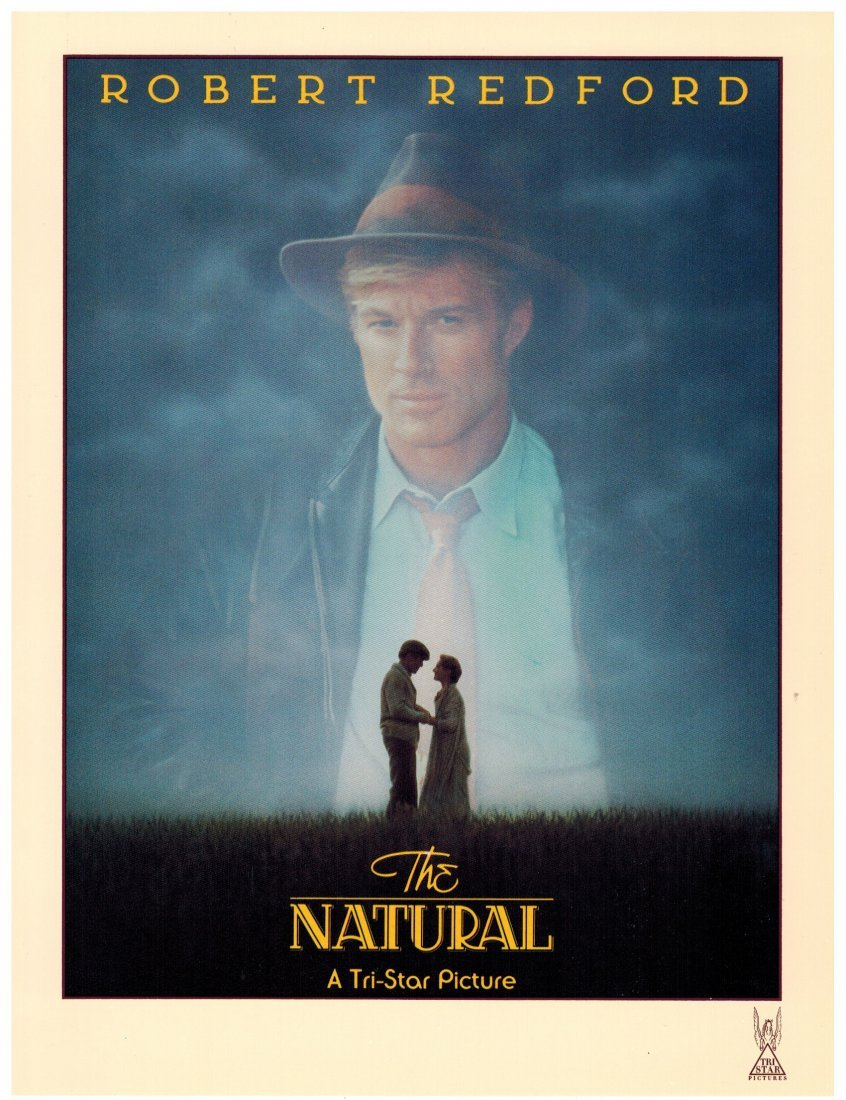 ''The Natural'' Cast & Crew Baseball Jacket. From the - 4