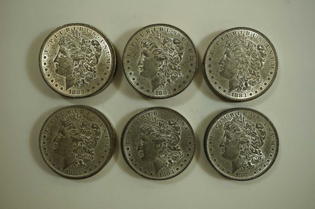 (10) 1883-O US Silver Dollars, nicer condition