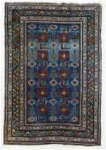 Semi Antique Caucasian Oriental Rug 3'6''x5'3''.