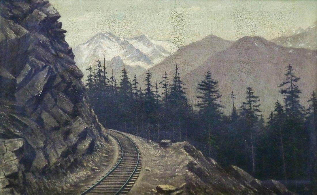 Gus Chilberg (19th/20th Cent. Washington) ''Snoqualmie