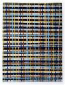 Jun Kaneko (b.1942 Japan) Untitled Plaid Panel 2005