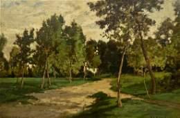Charles Volkmar 18411914 American Untitled Landscape