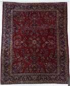 "Semi Antique Persian Sarouk Room Size Rug 8'6""x11'6"". O"