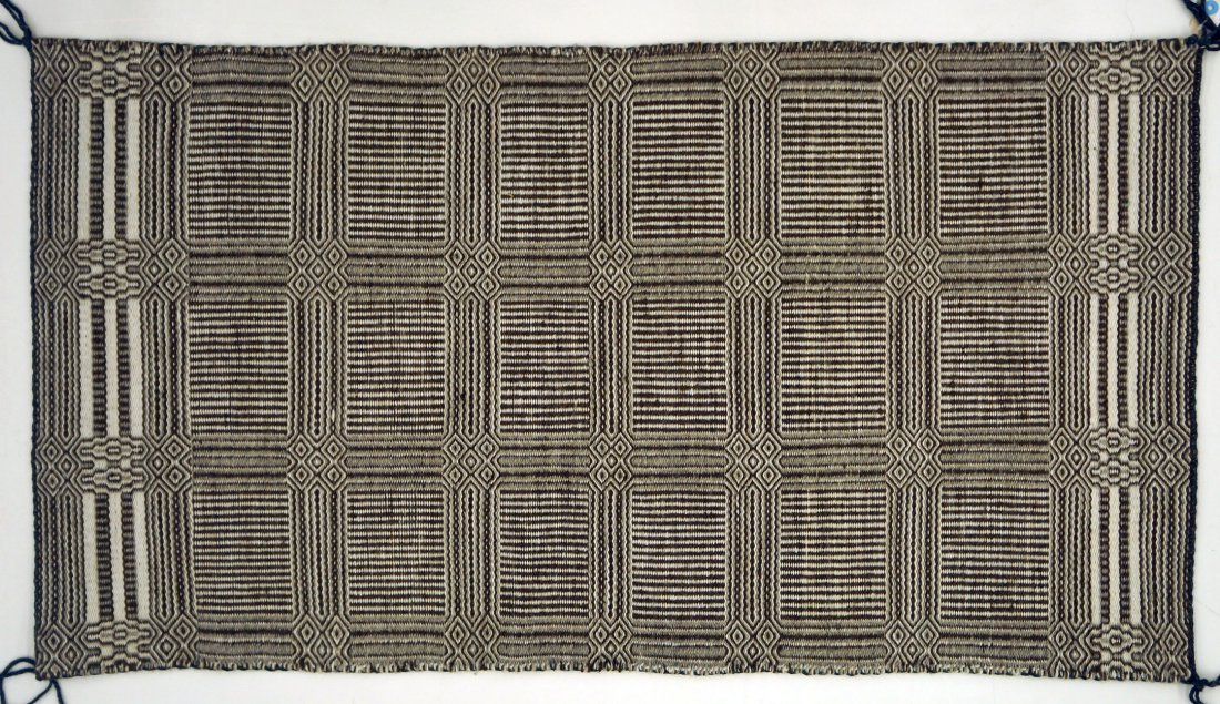 Navajo Double Weave Rug By Desbah Evans From Hubbell