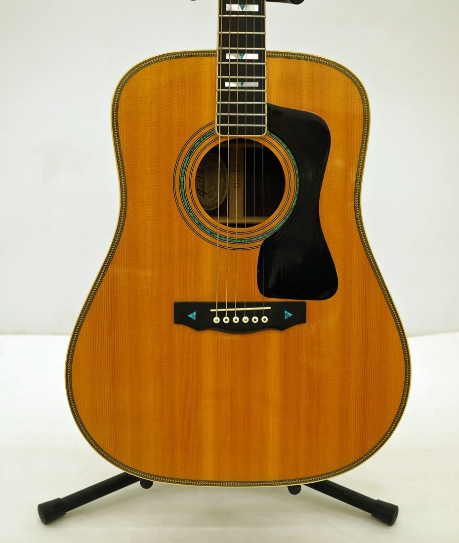 96 guild dv 72 acoustic guitar label reads model