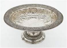 Antique Tiffany & Co. Persian Style Sterling Pedestal