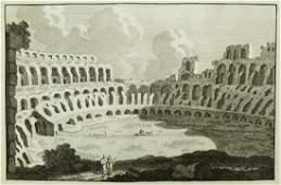 15pc Antique Italian Architectural Engravings