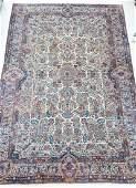 Semi Antique Kirman Persian Oriental Room Size Rug