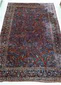 Semi Antique Sarouk Persian Room Size Rug