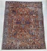 Semi Antique Gorevan Persian Oriental Rug 9'x12'.