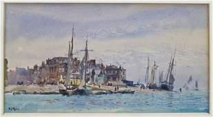William Lionel Wyllie (1853-1931 British) Untitled