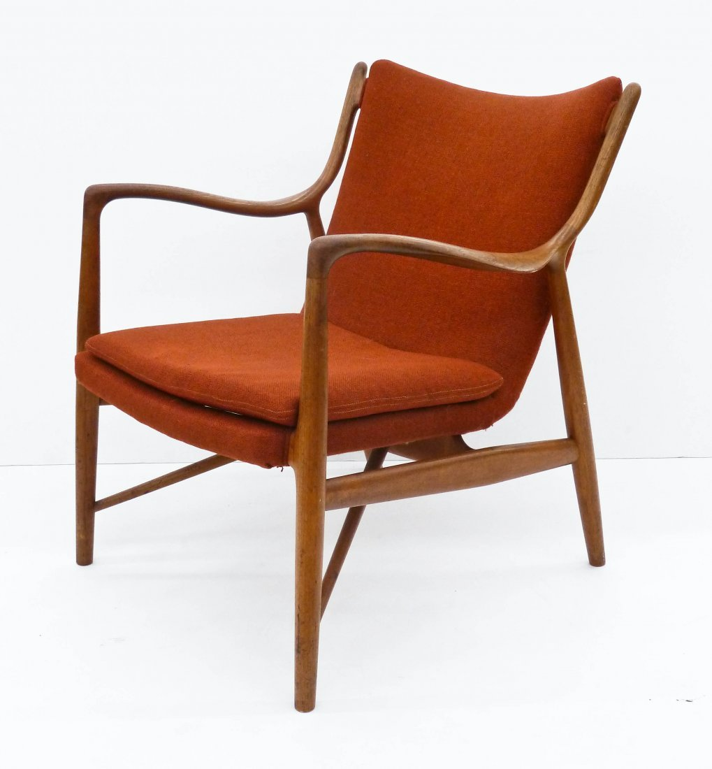 Finn Juhl for Niels Vodder NV-45 Teak Armchair
