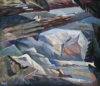 Peter Camfferman (1890-1957 Washington) Untitled Forest