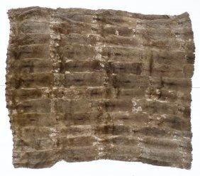 Antique Northest Coast Marmot Robe Or Blanket