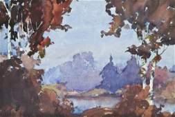 Merlin Enabnit 19031979 American Untitled Autumn
