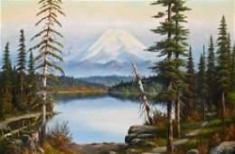 Leroy Updyke (1876-1959 Washington) Untitled Mt.